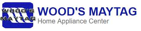 Wood's Maytag Home Appliance Center Logo