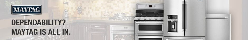 Wood's Maytag Home Appliance Center banner
